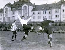 The national team player and German champion of 1910 Julius Hirsch was murdered at Ausschwitz concentration camp.